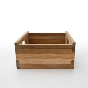 TBS001 | Bordeaux Teak Crate Small for CA583, CA585, CA598 (Set of 3)
