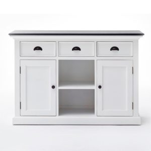 B129CT | Halifax Contrast Buffet w/ 2 baskets