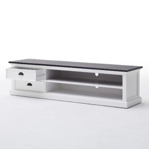 CA592-180CT | Halifax Contrast Large ETU w/ 2 drawers