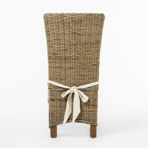 CR13   Wickerworks Salsa Dining Chair w/ cushion  (Set of 2)