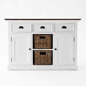 B129TWD | Halifax Accent Buffet w/ 2 baskets