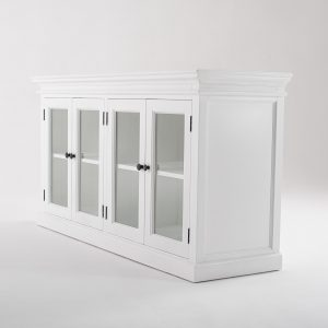 B184 | Halifax Display Buffet with 4 Glass Doors