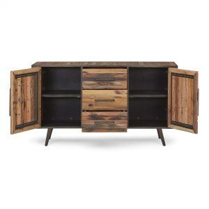 KK NO 19008 | Nordic Buffet 2 Doors 3 Drawers
