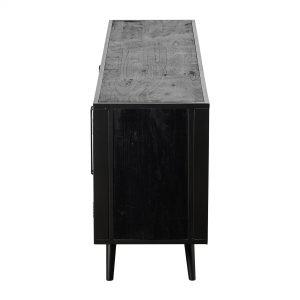 MD RT 18050 | Nordic Mindi Rattan TV Dresser 4 Doors
