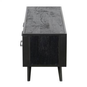 MD RT 18051 | Nordic Mindi Rattan TV Dresser 3 Drawers