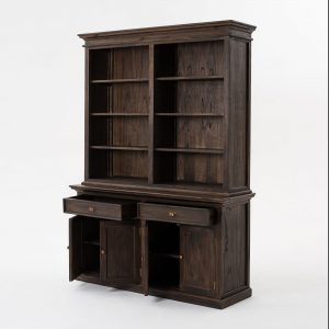 BCA599BW | Halifax Mindi Hutch Bookcase Unit