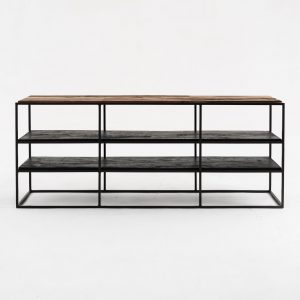 CPP18003 | Rustika TV Stand Open Shelving 140cm