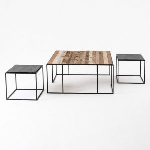 CPP28005 | Rustika Nesting Coffee Table Set 100cm